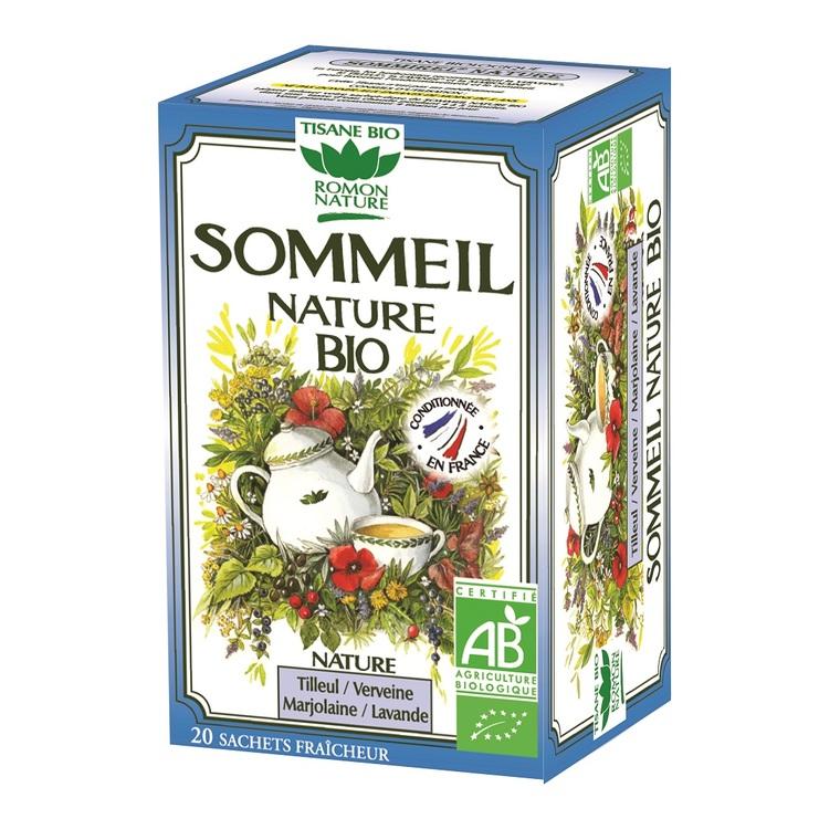 Tisane Sommeil nature bio - boîte de 20 sachets 356204