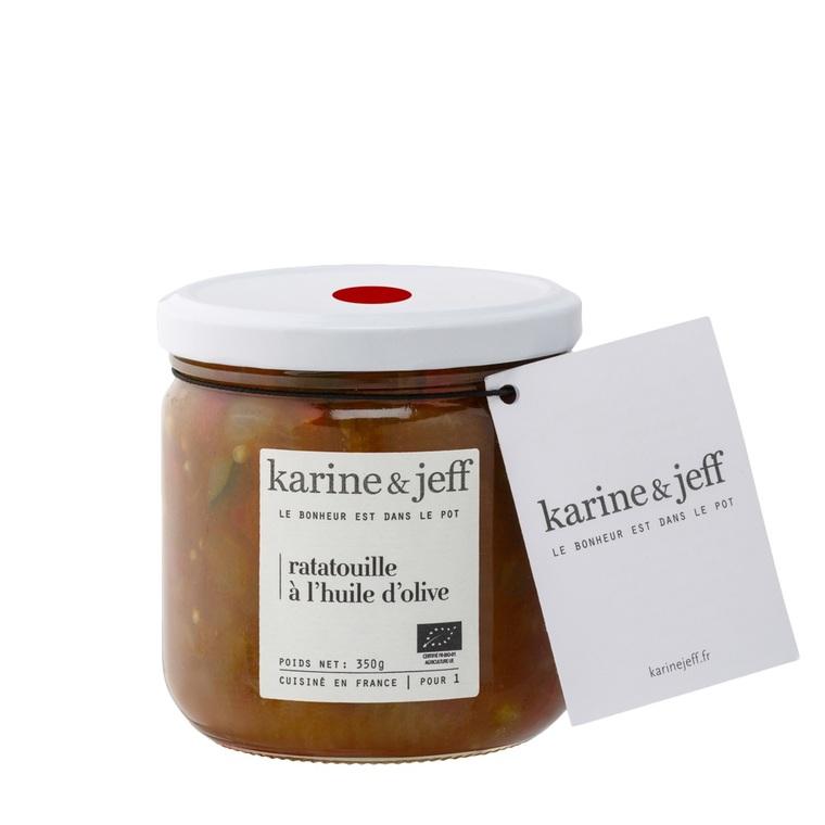 Ratatouille bio à l'huile d'olive 350 g 356355