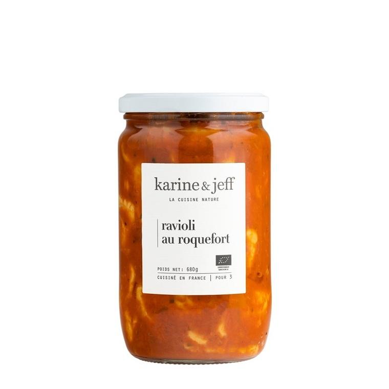 Raviolis bio au roquefort 680 g 356389