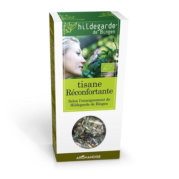 Tisane réconfortante Hildegarde bio en boite de 80 g 356532