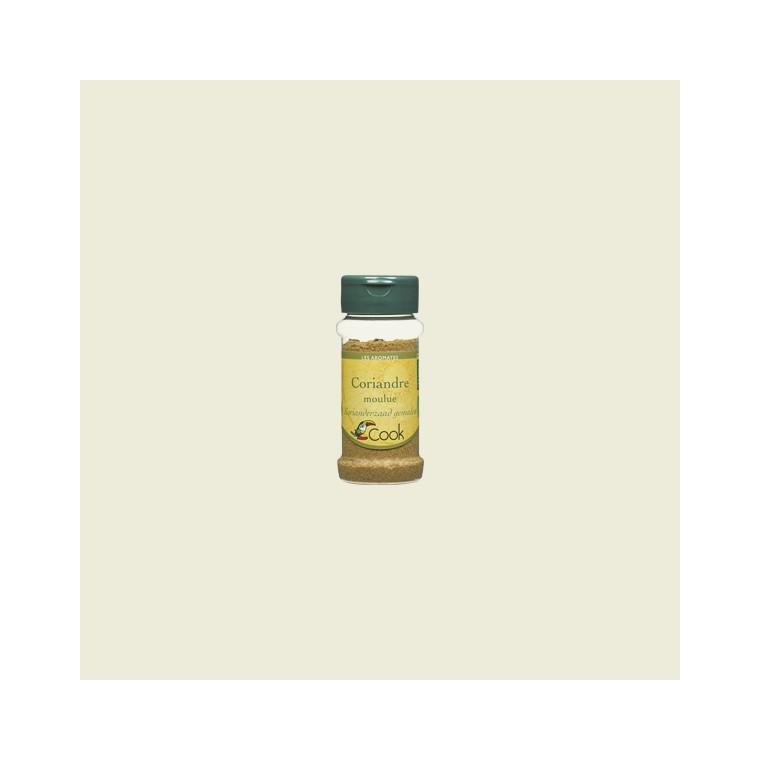 Coriandre en poudre bio en pot de 30 g 356563