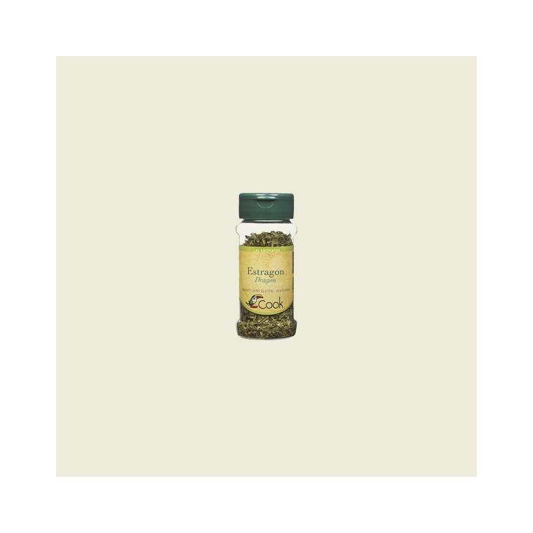 Feuilles d'estragon bio en pot de 15 g 356567