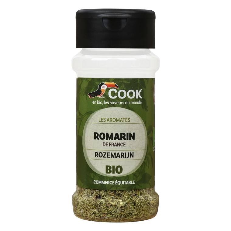 Feuilles de romarin bio dans un pot de 25 g 356594