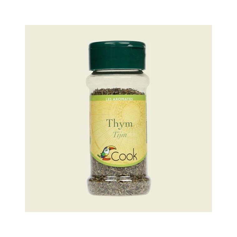 Feuilles de thym bio en pot de 15 g 356599
