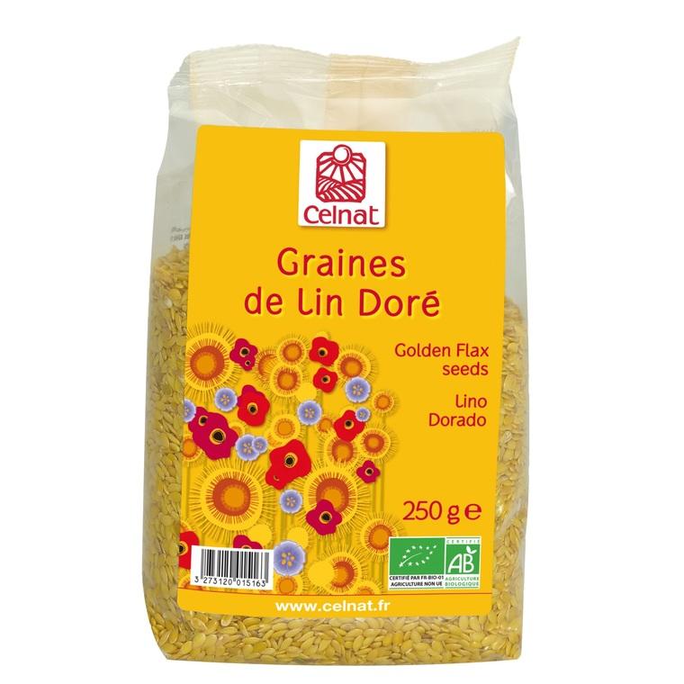 Graines de lin doré en sachet de 250 g 356845