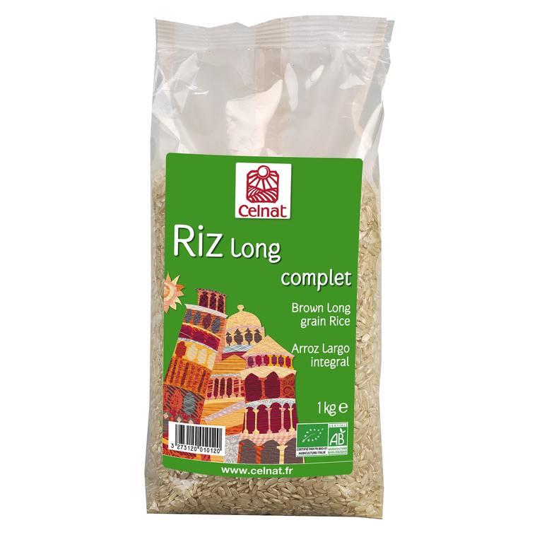 Riz long complet bio en sachet de 1 kg 356853