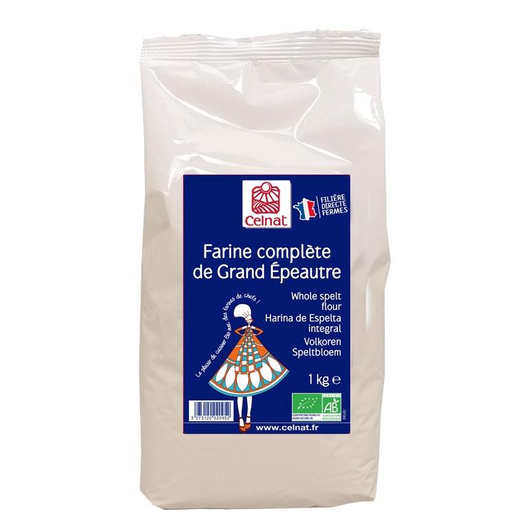 Farine grand épeautre complet en sachet de 1 kg 356885