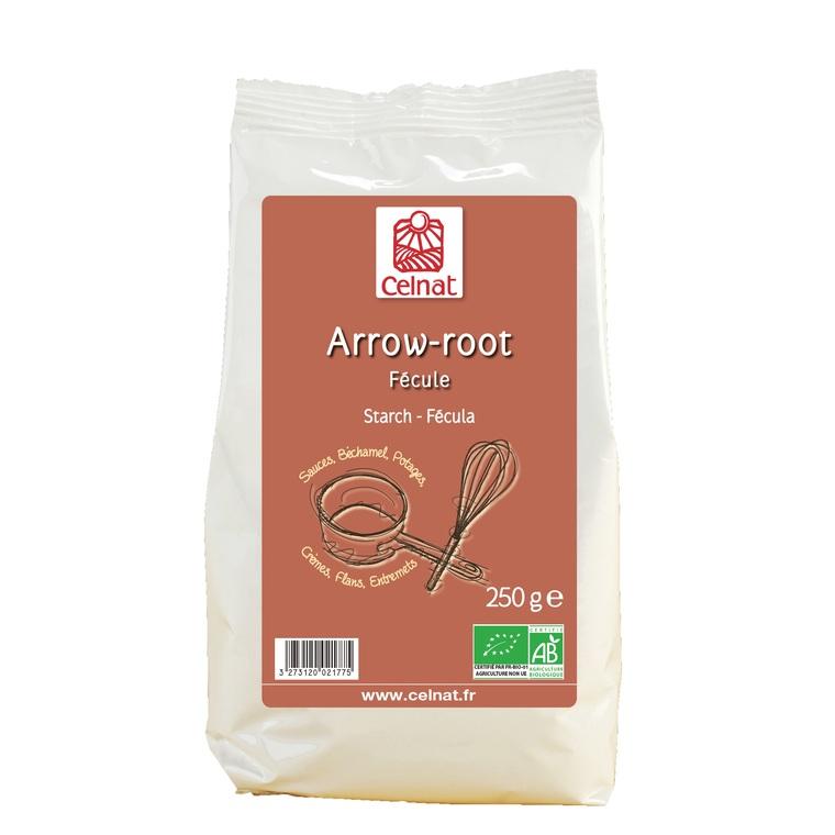 Arrow-root bio en sachet 250 g 356910