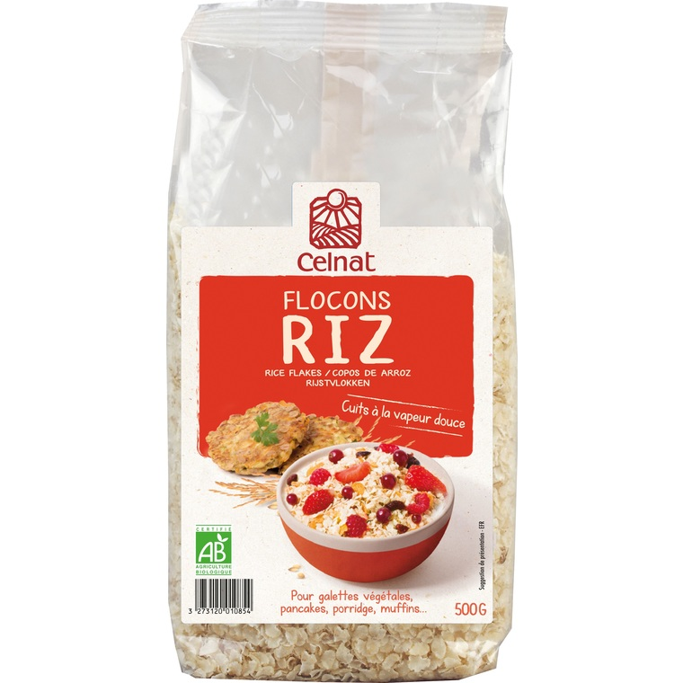 Flocons de riz Bio - 500 g 356924