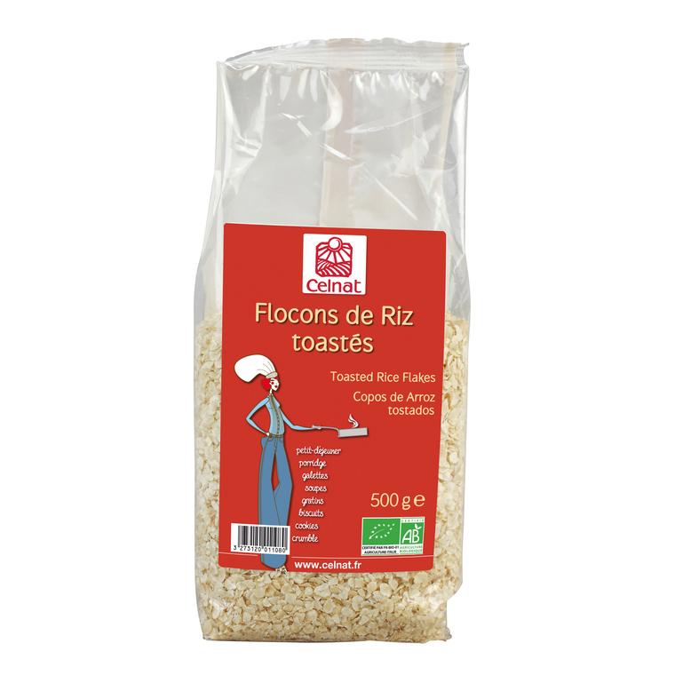 Flocons de riz toastés Bio - 500 g 356925