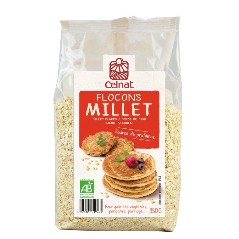 Flocons de millet Bio - 500 g 356928