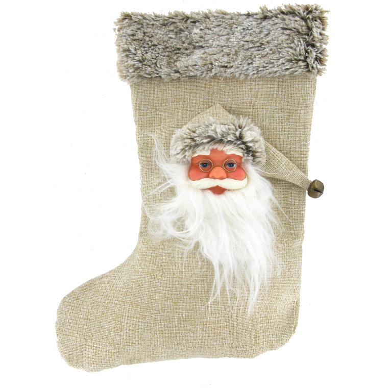 Chaussette de Noël blanche 357173