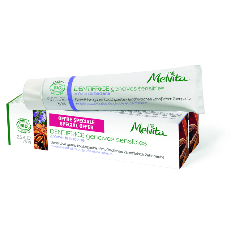 Dentifrice Gencives Sensibles 75 ml 357212