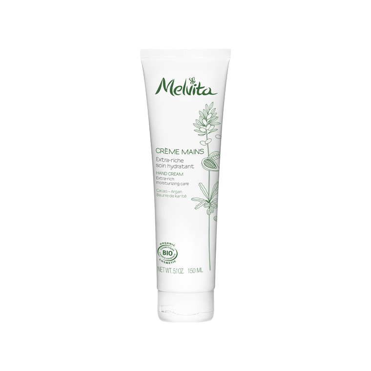 Crème extra-riche mains Melvita 150 ml