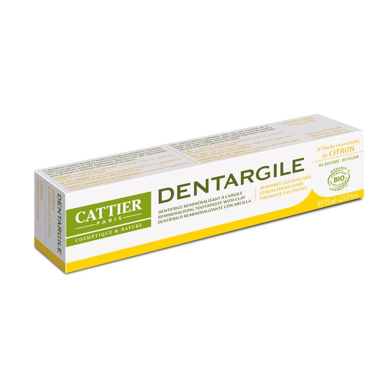Dentifrice dentargile citron bio en tube de 75 ml 357828