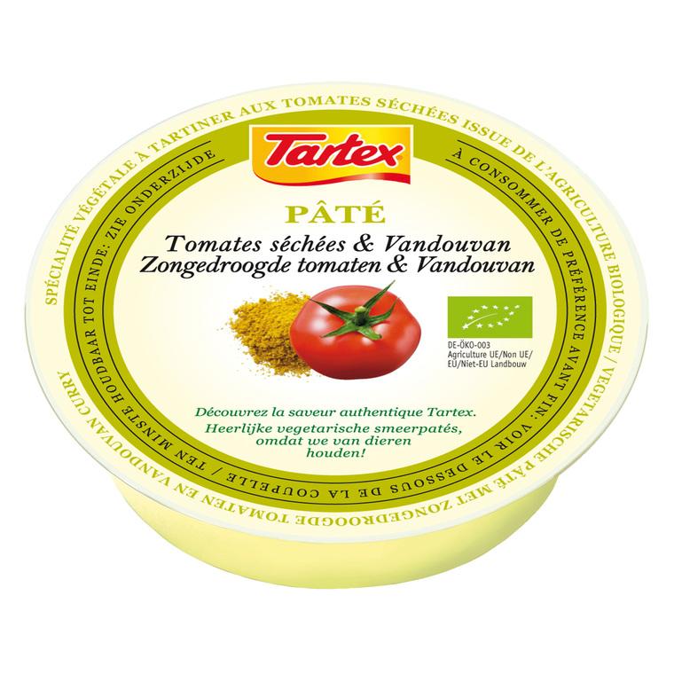 Pâté végétal à la crème de tomates séchées bio 75 g 358223