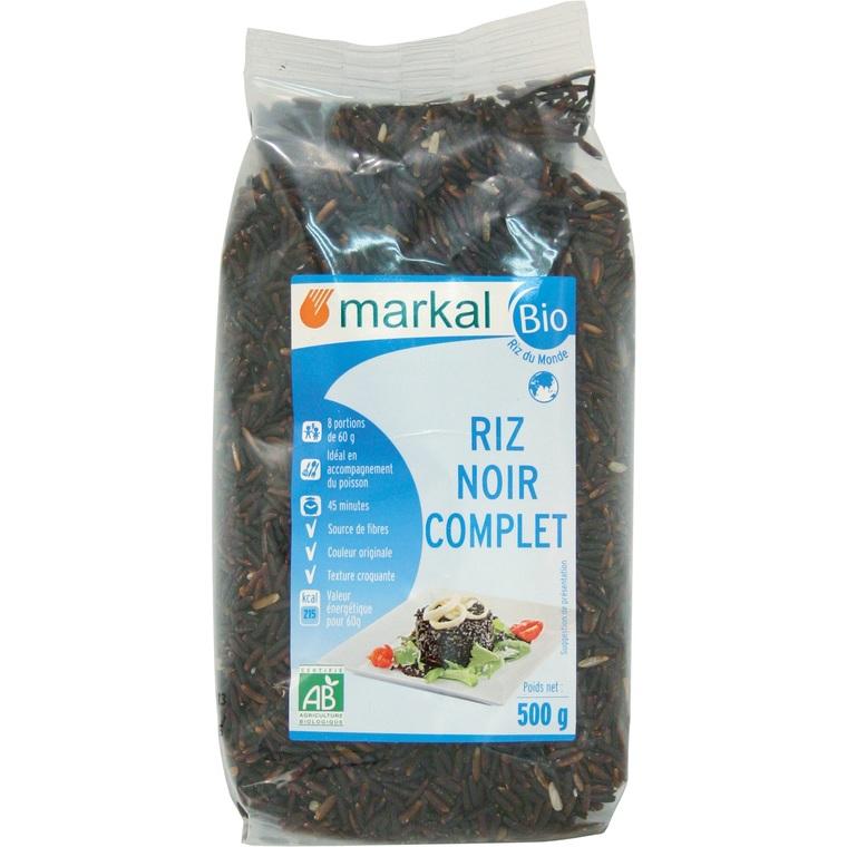 Riz noir bio - 500 gr 358285