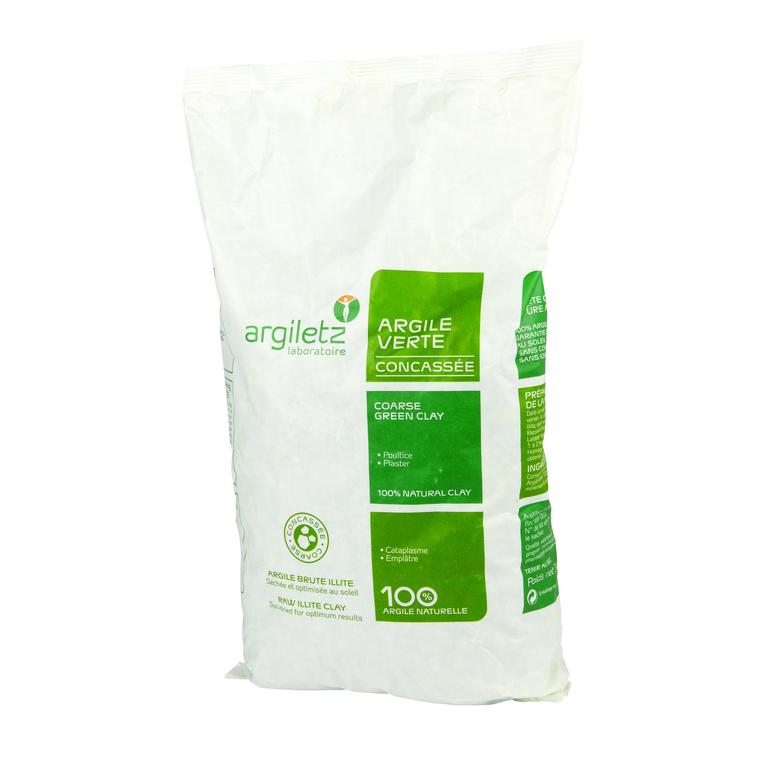 Argile verte concassée - 3 kg 358389