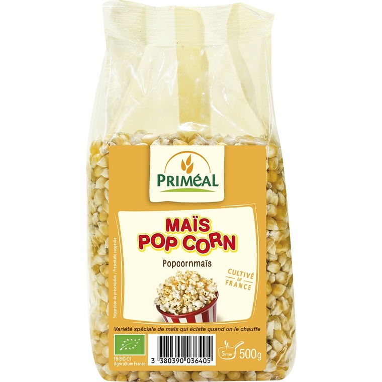 Maïs pop-corn PRIMEAL 500 g 358461