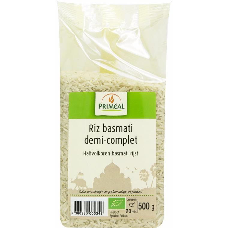 Riz basmati 1/2complet 500 g PRIMEAL 358468