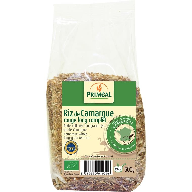 Riz rouge Camargue 500 g PRIMEAL 358469