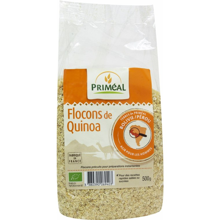 Flocon de quinoa 500 g PRIMEAL 358471