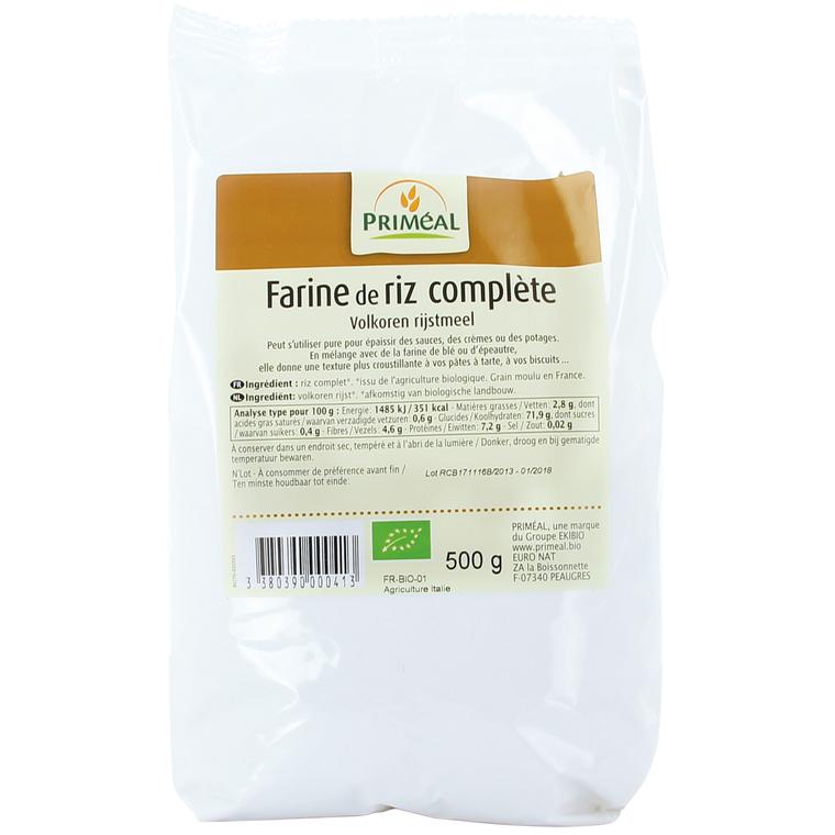 Farine de riz PRIMEAL 500 g 358486