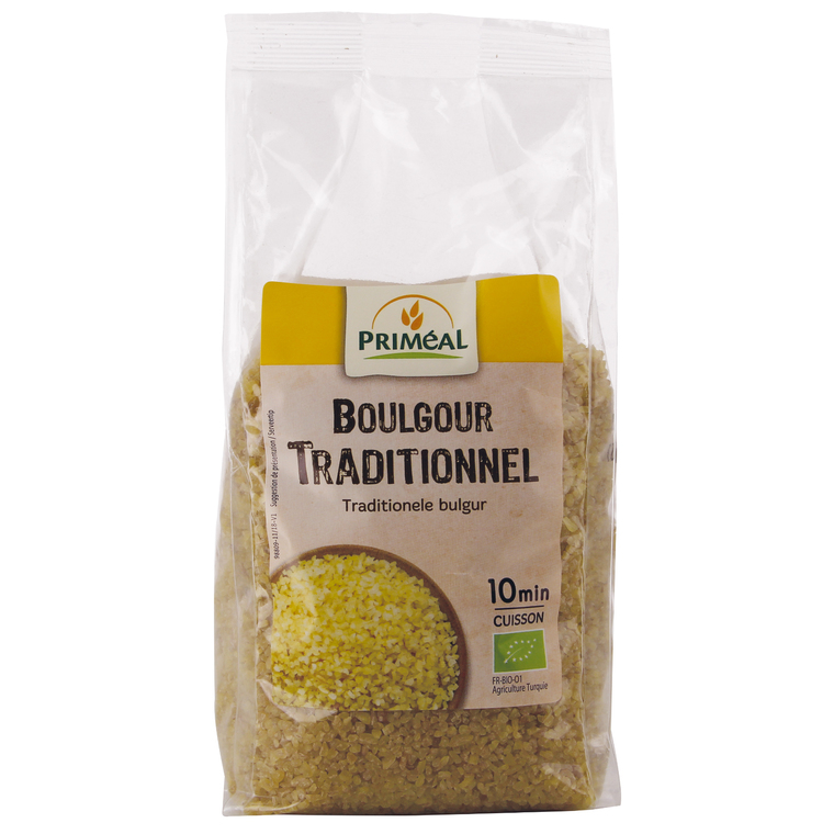 Boulgour traditionnel PRIMEAL 500 g 358493