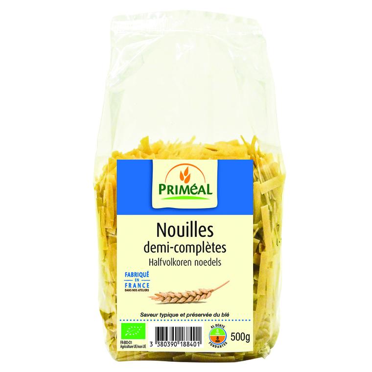 Nouilles demi completes 500 g PRIMEAL 358519