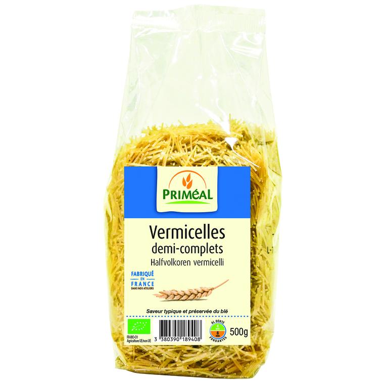 Vermicelles demi-complets PRIMEAL 500 g 358526