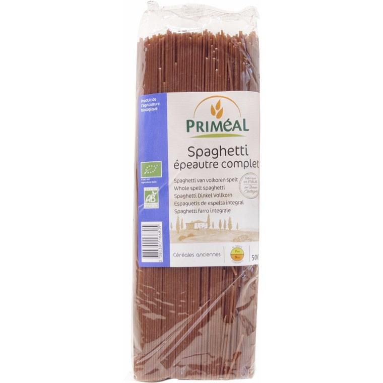 Spaghettis épeautre complets PRIMEAL 500 g 358535