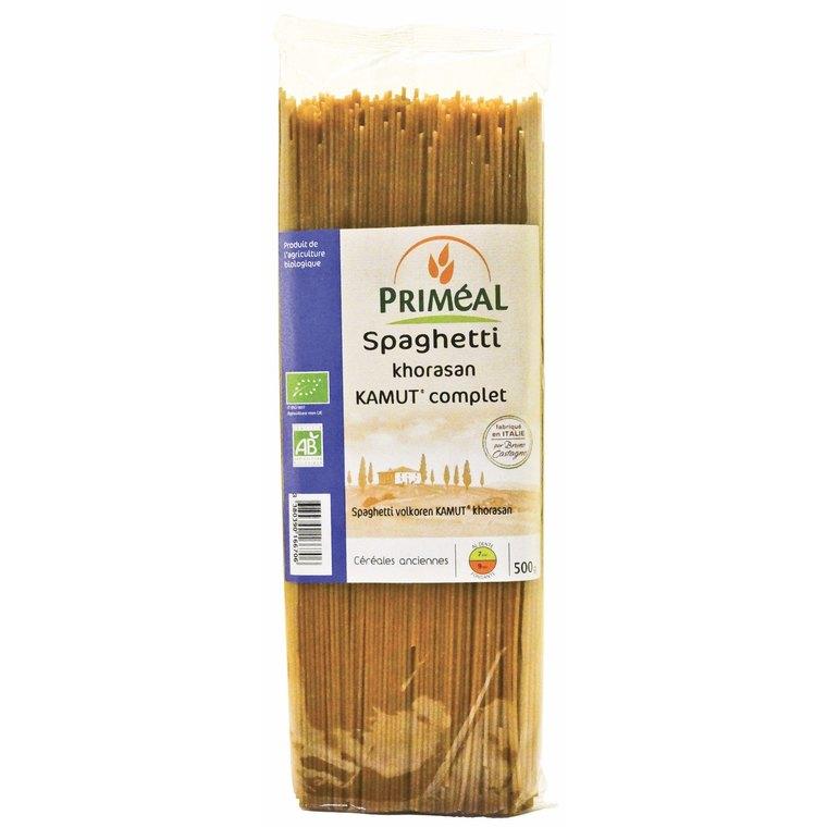 Spaghettis kamut complets PRIMEAL 500 g 358536