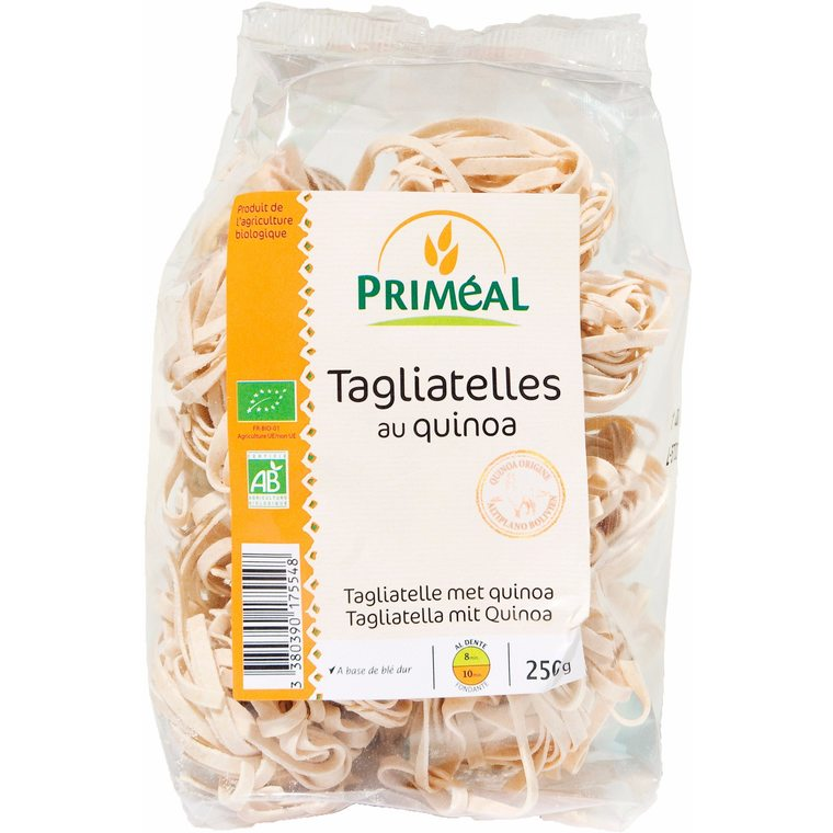 Tagliatelles quinoa 250 g PRIMEAL 358550