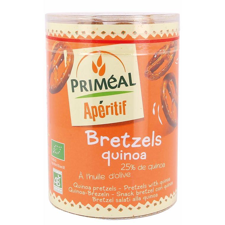 Bretzels au quinoa PRIMEAL 200 g