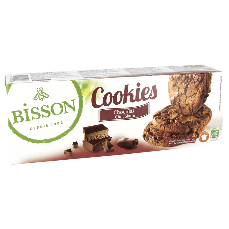 Cookies chocolat 200 g BISSON 358610