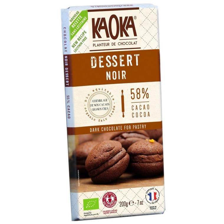 Chocolat dessert 55% KAOKA 200 g 358664