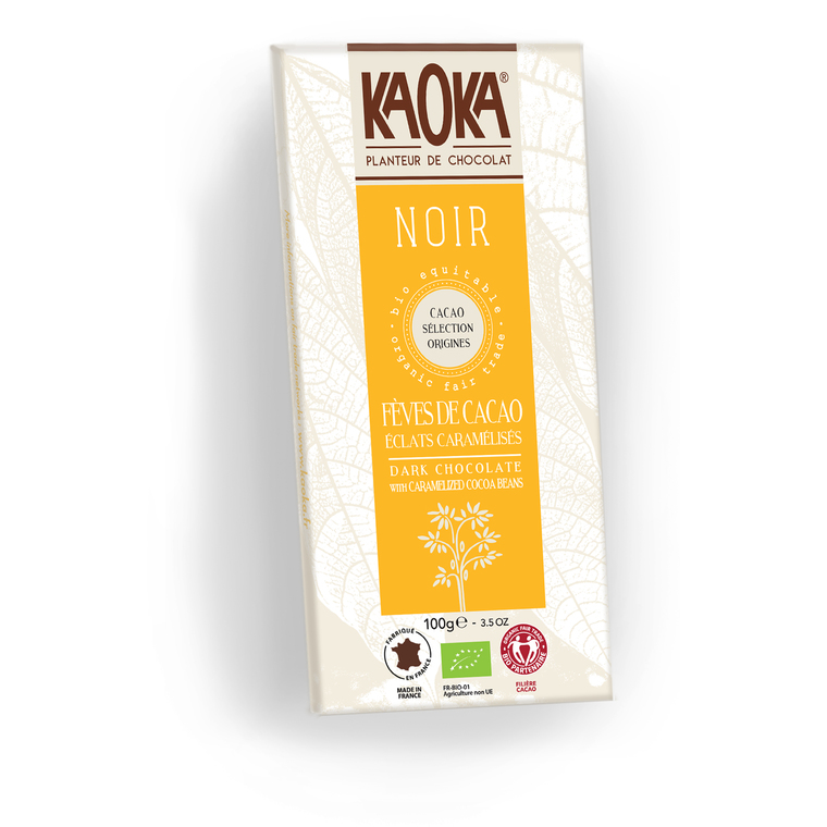 Chocolat noir 61% KAOKA 100 g 358667