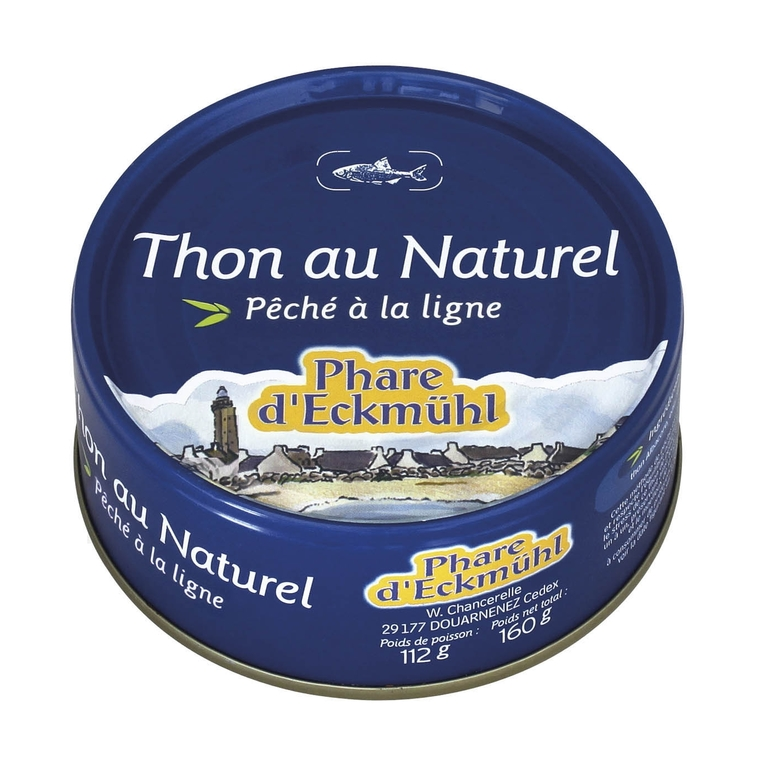 Thon rose au naturel PHARE D'ECKMÜHL 112 g 358678