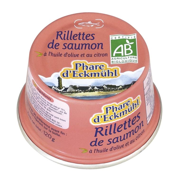 Rillettes de saumon 125 g PHARE D'ECKMÜHL 358683