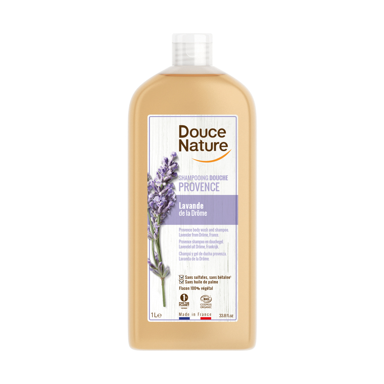 Shampoing douche savon marseille DOUCE NATURE