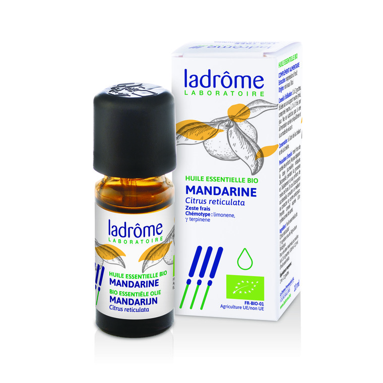 Huile essentielle bio de Mandarine Ladrôme - 10 ml 358922