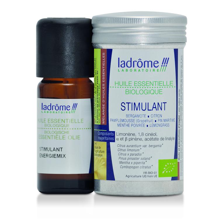 Huile essentielle bio mélange stimulant Ladrôme - 10 ml 358929