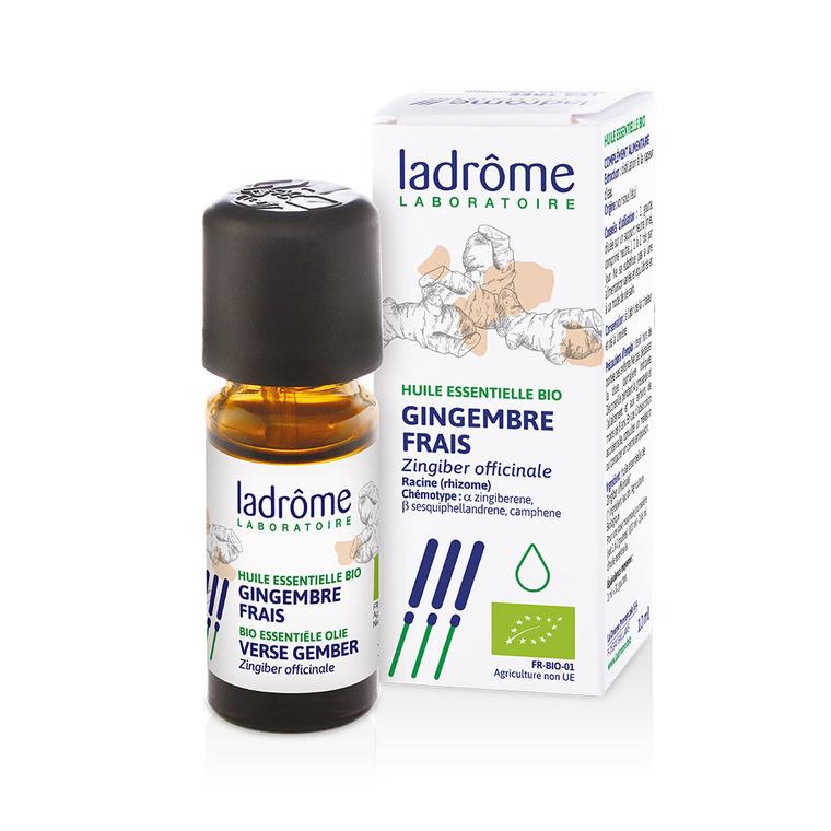 Huile essentielle bio de Gingembre Ladrôme - 10 ml 358933