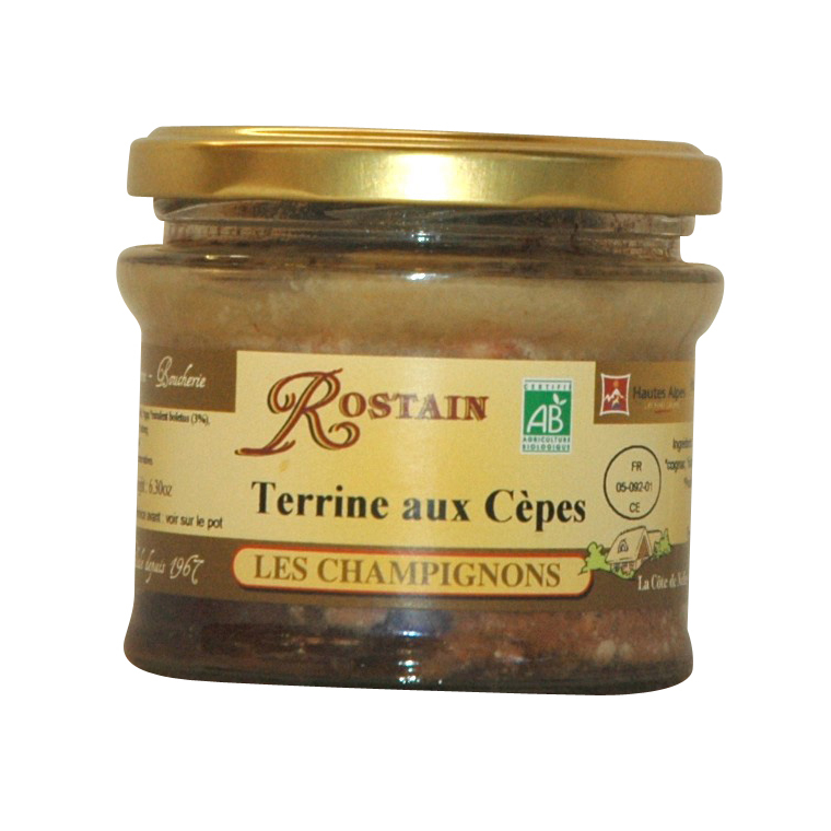 Terrine aux cèpes ROSTAIN 359093