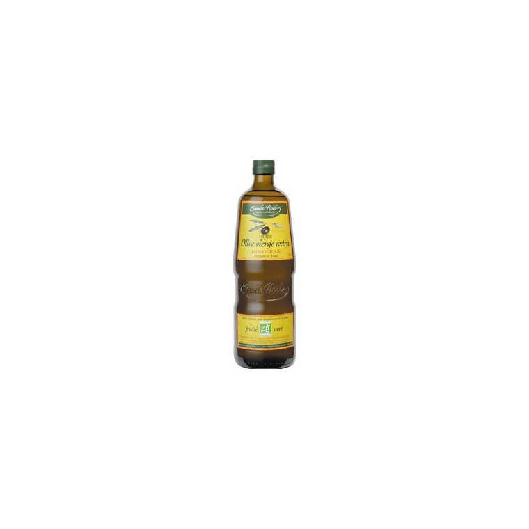 Huile olive vierge extra bio Fruité Vert EMILE NOEL 360021