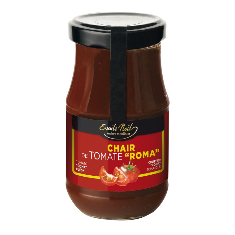 Chair de tomate bio en pot de 400 g 360034