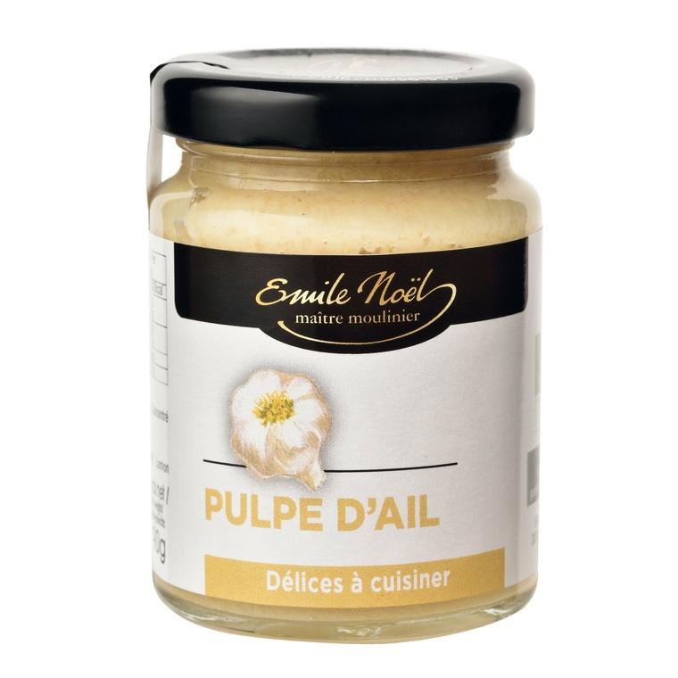 Pulpe d'ail bio en pot de 90 g 360044