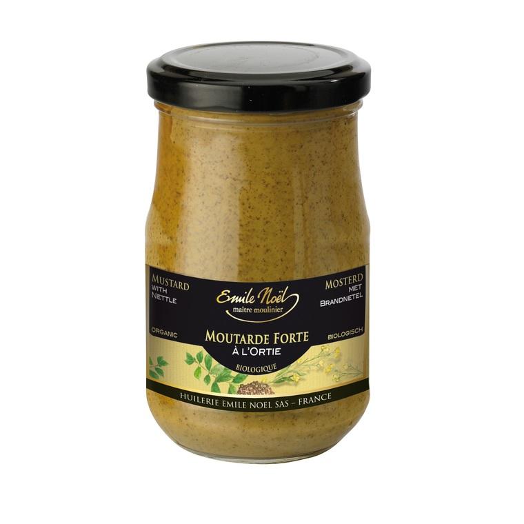 Moutarde à l'ortie bio en pot de 200 g 360075