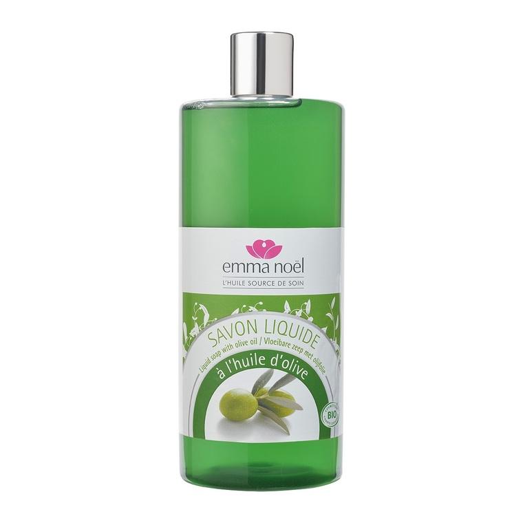 Savon liquide cosmebio à l'huile d'olive en format de 1 L 360123