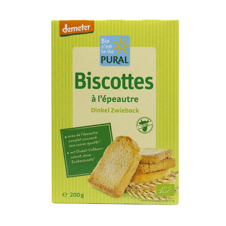 Biscottes épeautre PURAL 360690